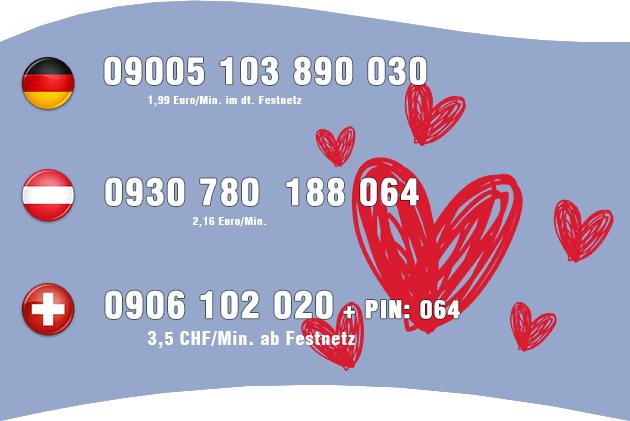 Guter Telefonsex mit Transen für Deutschland, Österreich und Schweiz